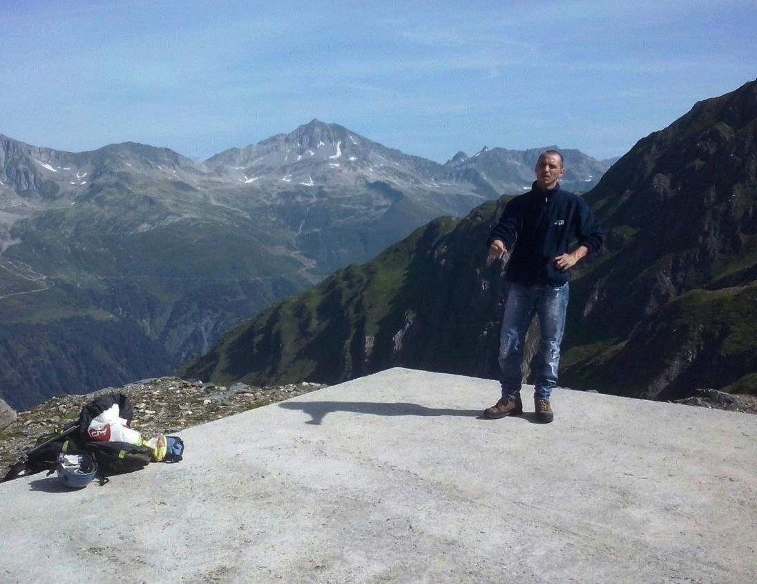 Un po' di riposo dopo 700 metri di dislivello